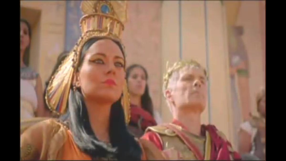 cleopatra storia di una dea