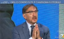 Laria che tira, Ignazio La Russa contro David Parenzo: Vergognatevi, siete una trasmissione pessima