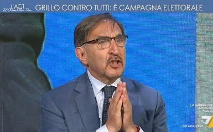 L'aria che tira, Ignazio La Russa contro David Parenzo: 'Vergognatevi, siete una trasmissione pessima'