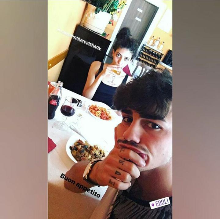 Amici 16, Shady e Alessio La Padula su Instagram