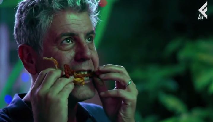 Anthony Bourdain LaEffe