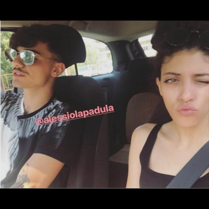 Shady su Instagram con Alessio La Padula