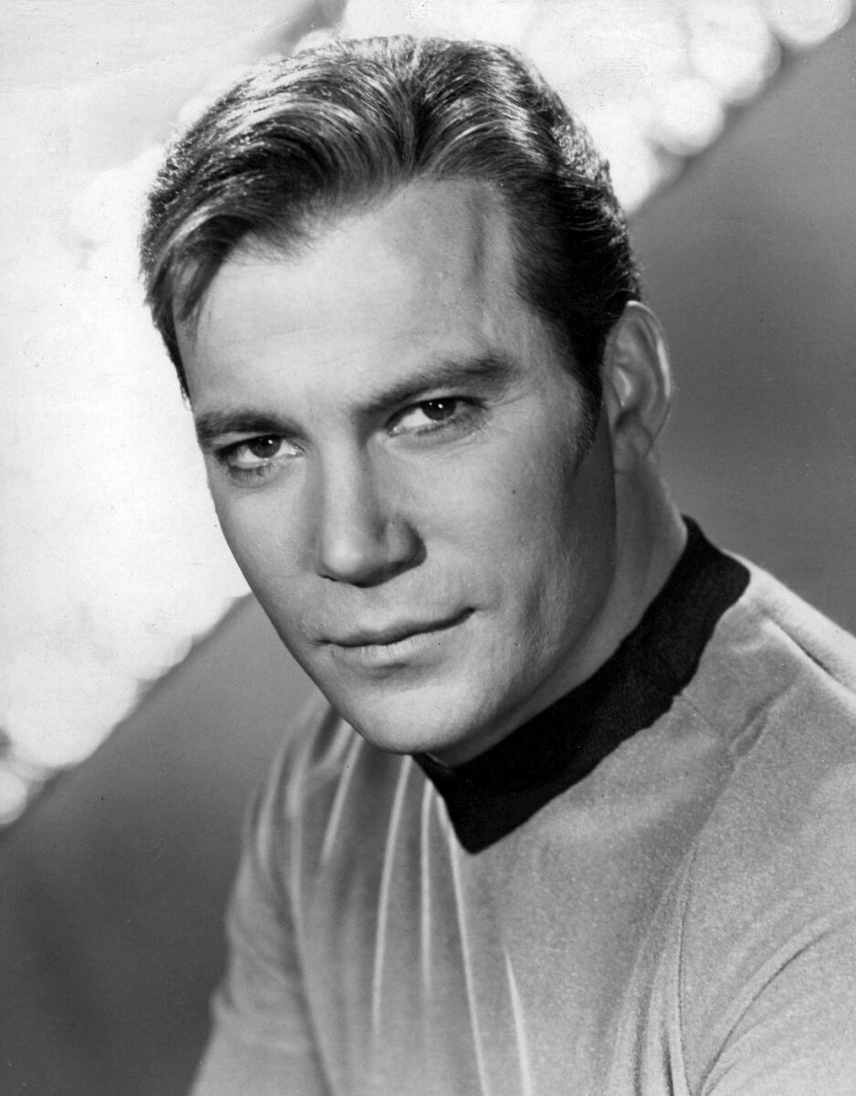 William Shatner attore di Star Trek