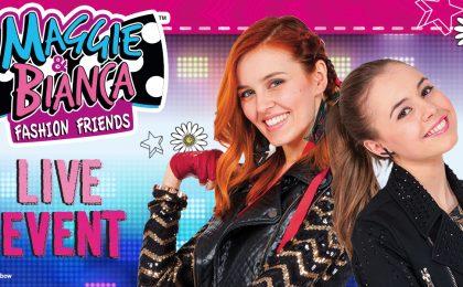 Maggie e Bianca Fashion Friends, primo tour in Italia per i protagonisti della serie tv: date e biglietti