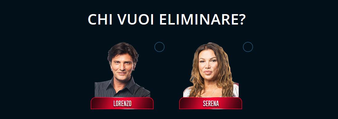 GF VIP 2, Serena Grandi e Lorenzo Flaherty nominati