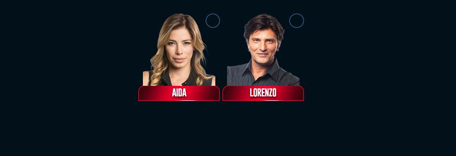 Grande Fratello VIP 2017 nominati quinta puntata Lorenzo Flaherty Aida Yespica