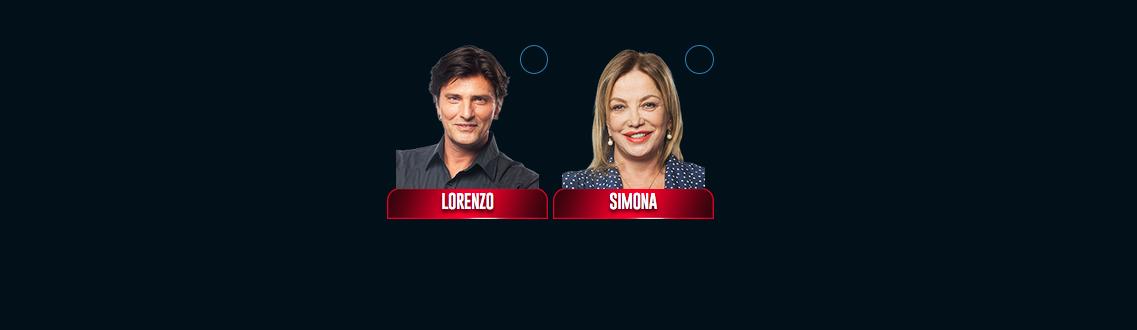 Grande fratello vip 2017 nominati lorenzo flaherty simona izzo