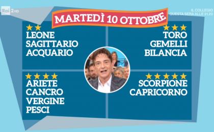 Oroscopo Paolo Fox oggi 10 ottobre 2017 a I Fatti Vostri: Scorpione, il segno più fortunato