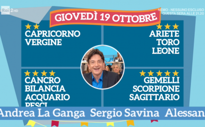 Oroscopo Paolo Fox oggi 19 ottobre 2017 a I Fatti Vostri: Scorpione, novità in vista