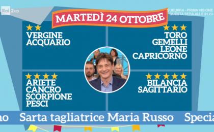 Oroscopo Paolo Fox oggi 24 ottobre 2017 a I Fatti Vostri: Bilancia, le stelle vi sorridono