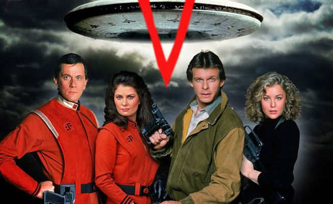 V Visitors telefilm anni '80