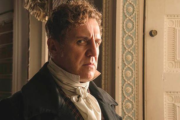 Nigel Lindsay veste i panni di Robert Peel nella fiction Victoria
