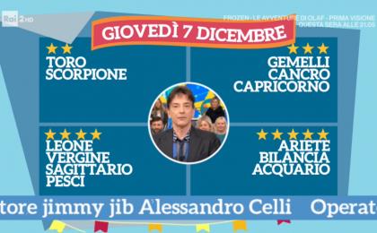 Oroscopo Paolo Fox oggi 7 dicembre 2017 a I Fatti Vostri: Pesci, progetti importanti