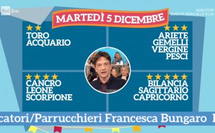 Oroscopo Paolo Fox oggi 5 dicembre 2017 a I Fatti Vostri: Capricorno, successo in amore