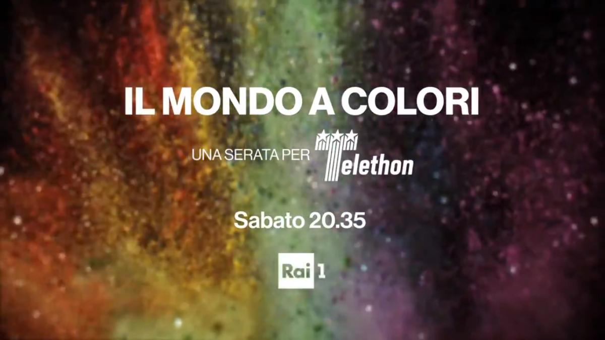 una serata per telethon il mondo a colori