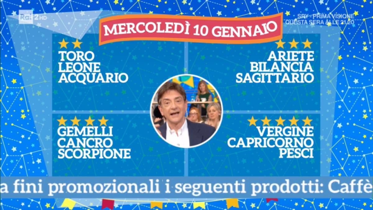 Oroscopo Paolo Fox oggi 10 gennaio 2018 a I Fatti Vostri: Capricorno, incontri speciali
