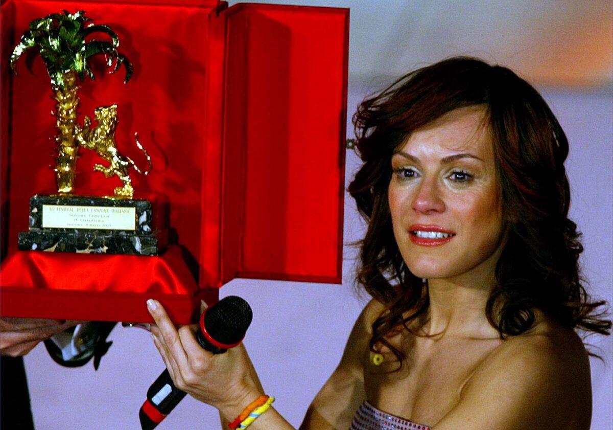 Alexia vincitrice sanremo 2003