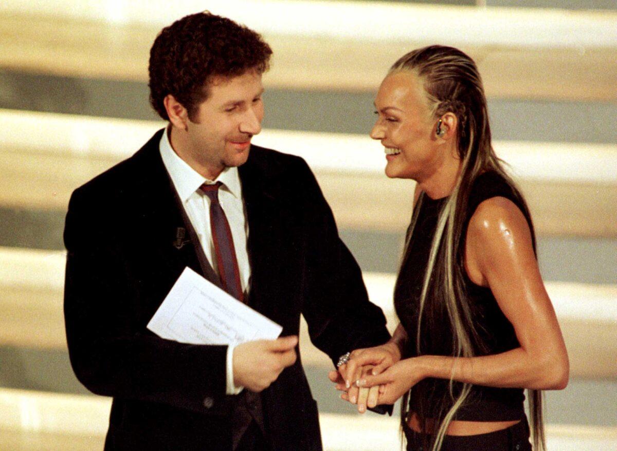 Anna Oxa vincitrice Sanremo 1999