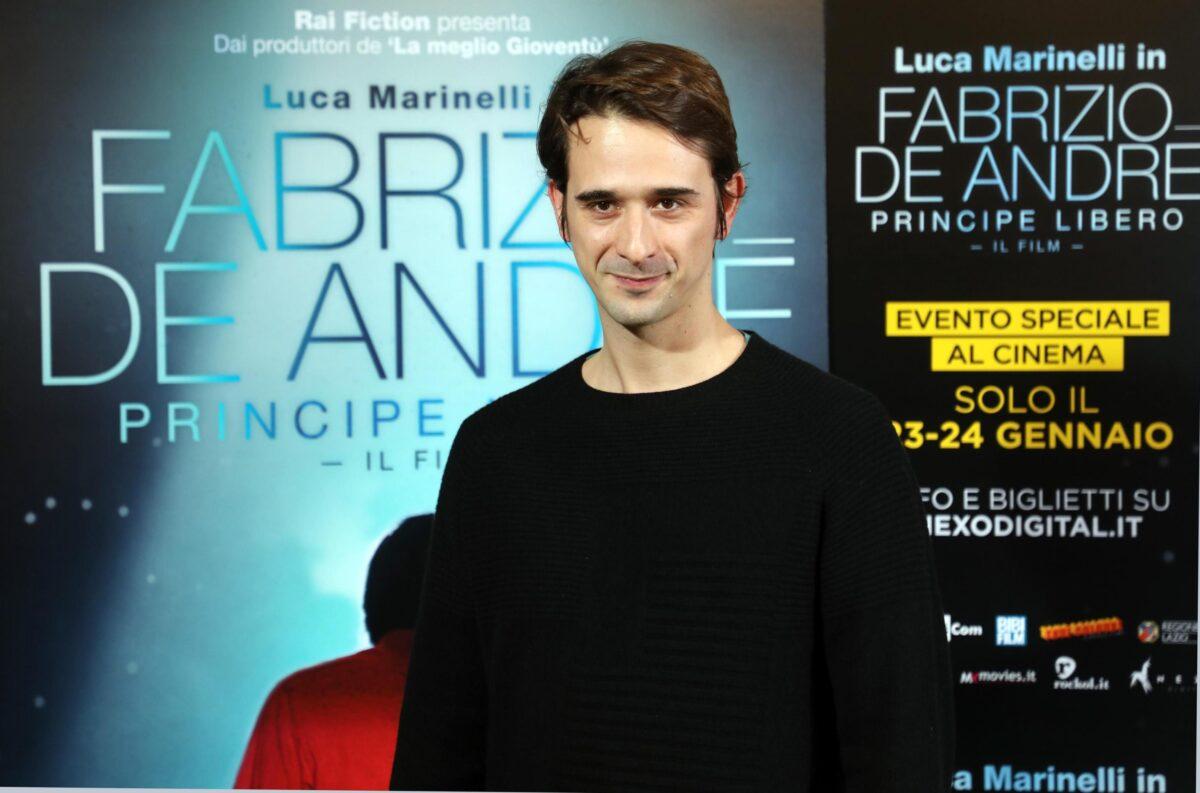 Presentazione del film 'Fabrizio De André. Principe libero'