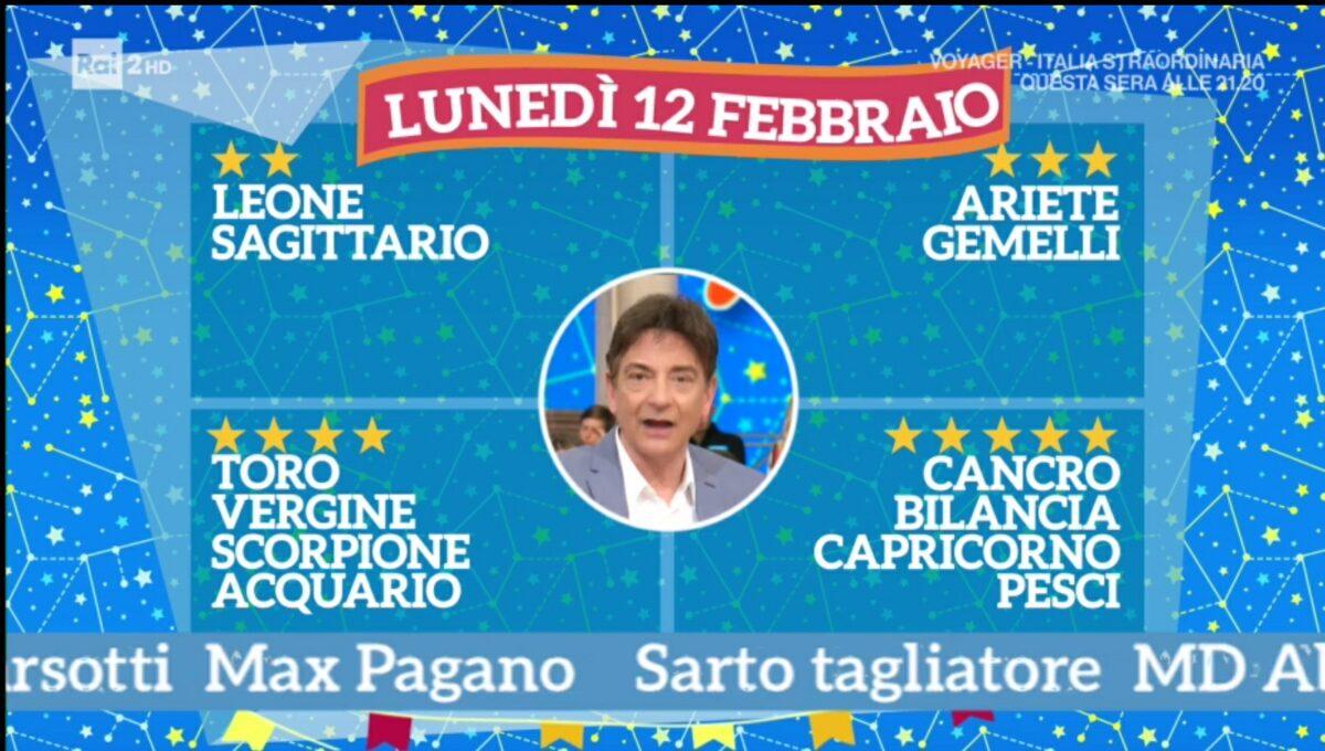 Oroscopo Paolo Fox oggi 12 febbraio 2018 a I Fatti Vostri: Cancro, grandi opportunità
