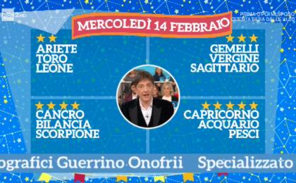 Oroscopo Paolo Fox oggi 14 febbraio 2018 a I Fatti Vostri: Pesci, amore alle stelle