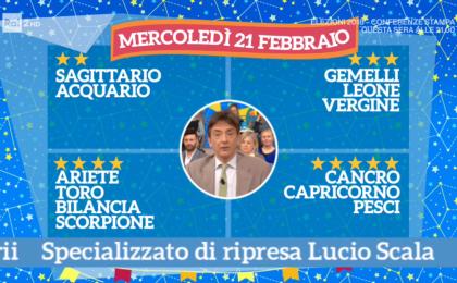 Oroscopo Paolo Fox oggi 21 febbraio 2018 a I Fatti Vostri: Capricorno, bella grinta