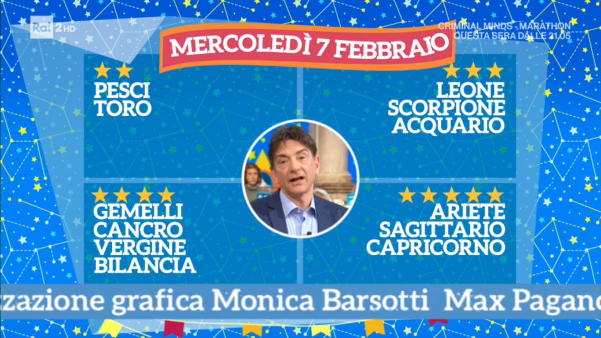Oroscopo Paolo Fox oggi 7 febbraio 2018 a I Fatti Vostri: Ariete, serenità in amore