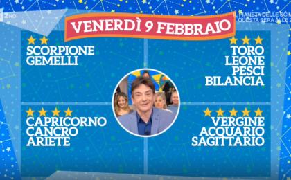 Oroscopo Paolo Fox oggi 9 febbraio 2018 a I Fatti Vostri: Sagittario, weekend importante