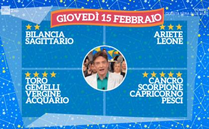 Oroscopo Paolo Fox oggi 15 febbraio 2018 a I Fatti Vostri: Cancro, i favoriti delle stelle