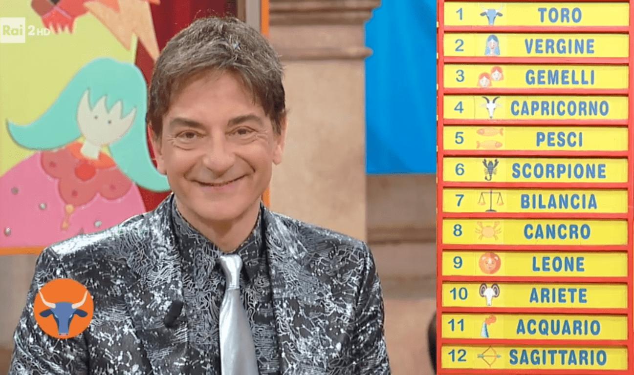 Oroscopo Paolo Fox oggi 15 aprile 2018, la classifica settimanale a Mezzogiorno in Famiglia: Toro, siete vincenti