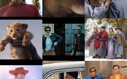 I 10 film più attesi del 2019