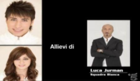Luca Jurman segue Antonio Mungari e Antonella Lafortezz