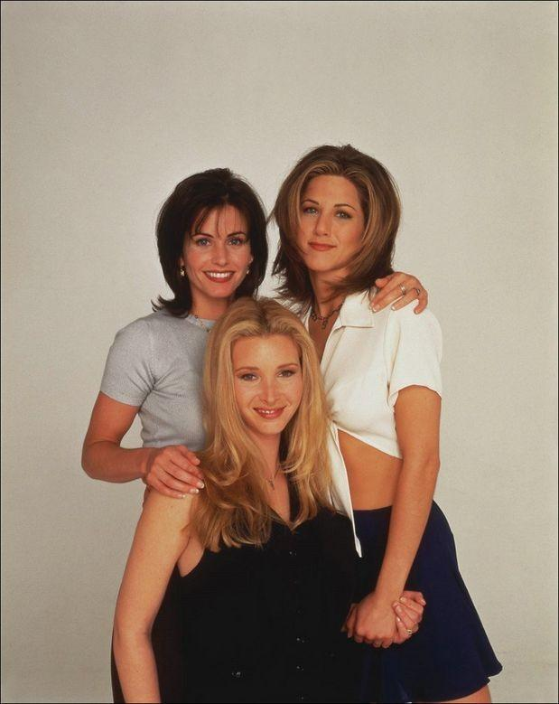 Courteney Cox Jennifer Aniston e Lisa Kudrow