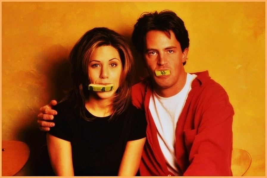Jennifer Ansiton e Matthew Perry