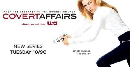 Covert Affairs, il poster