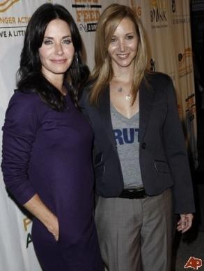 Courtney Cox e Lisa Kudrow