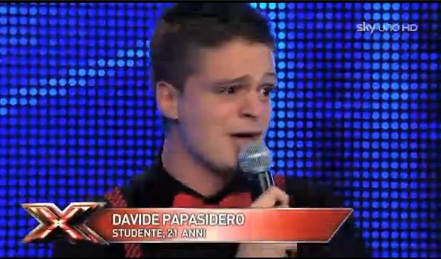 Davide Papasidero, X Factor 5