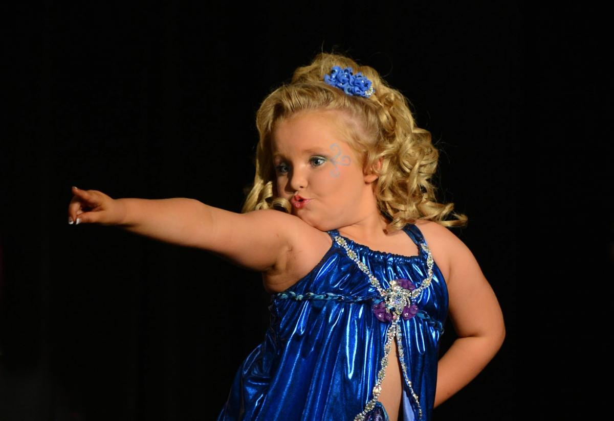Honey Boo Boo in un concorso di bellezza