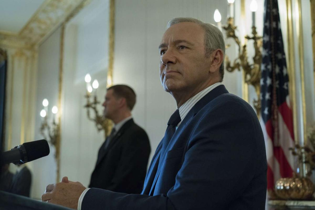 Kevin Spacey in House of Cards 5