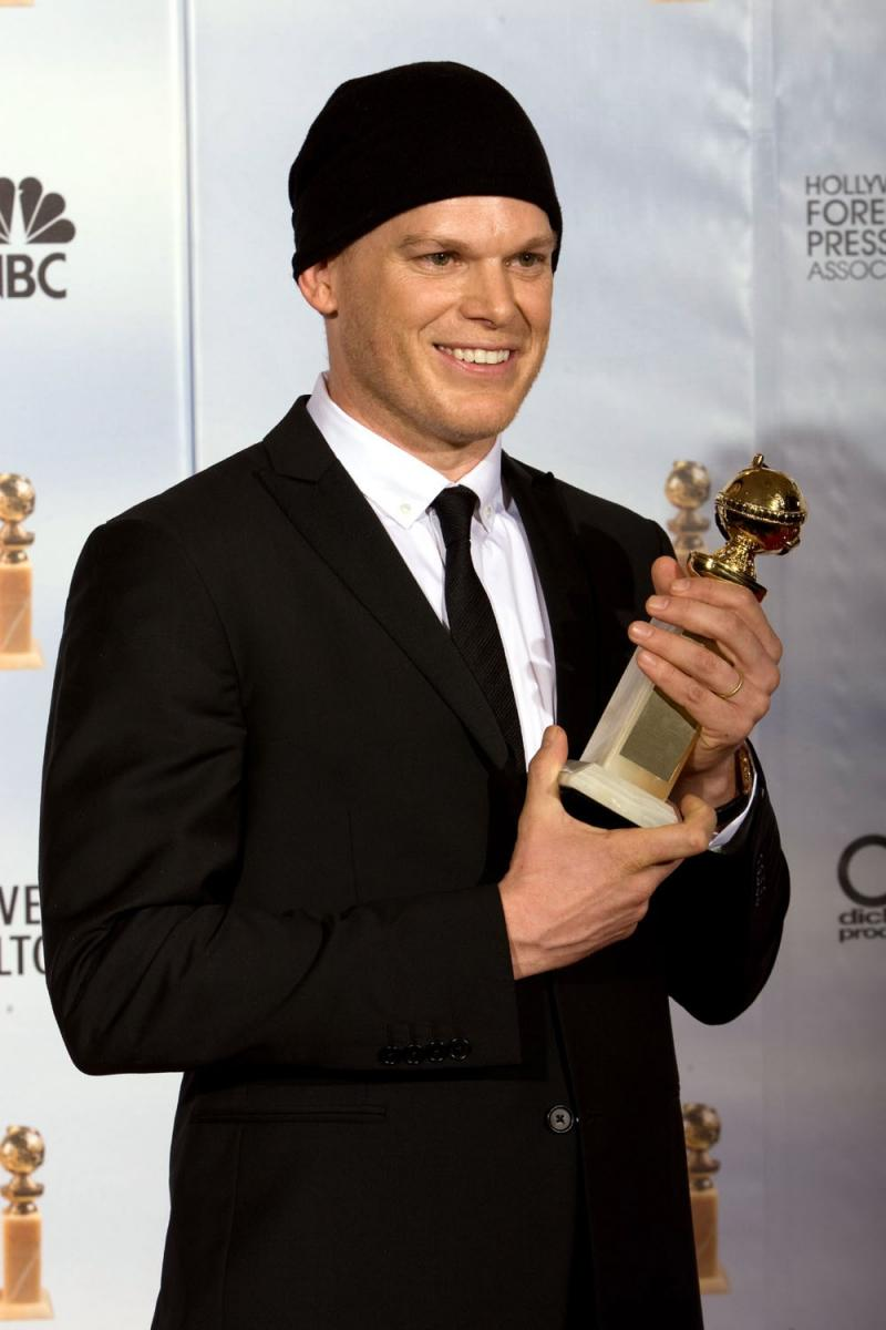 Michael C Hall con Emmy