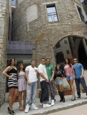 Il cast di Jersey Shore a Firenze