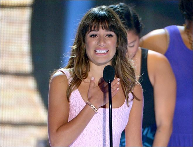 Lea Michele ai Teen Choice Awards