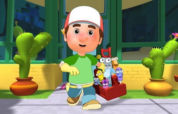 Manny tuttofare televisionando