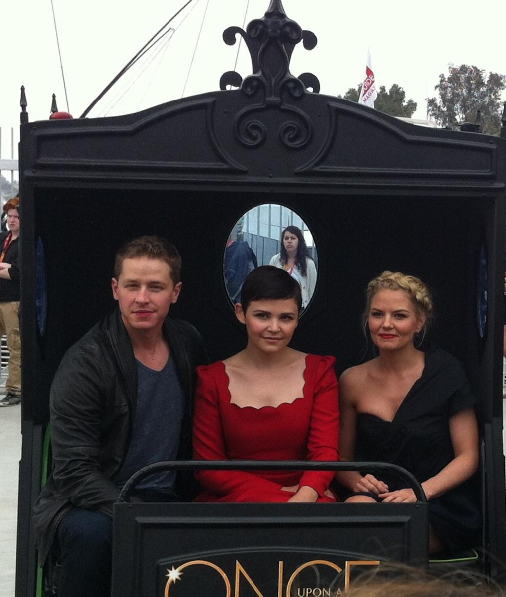 L'arrivo di Once Upon A Time al Comic Con