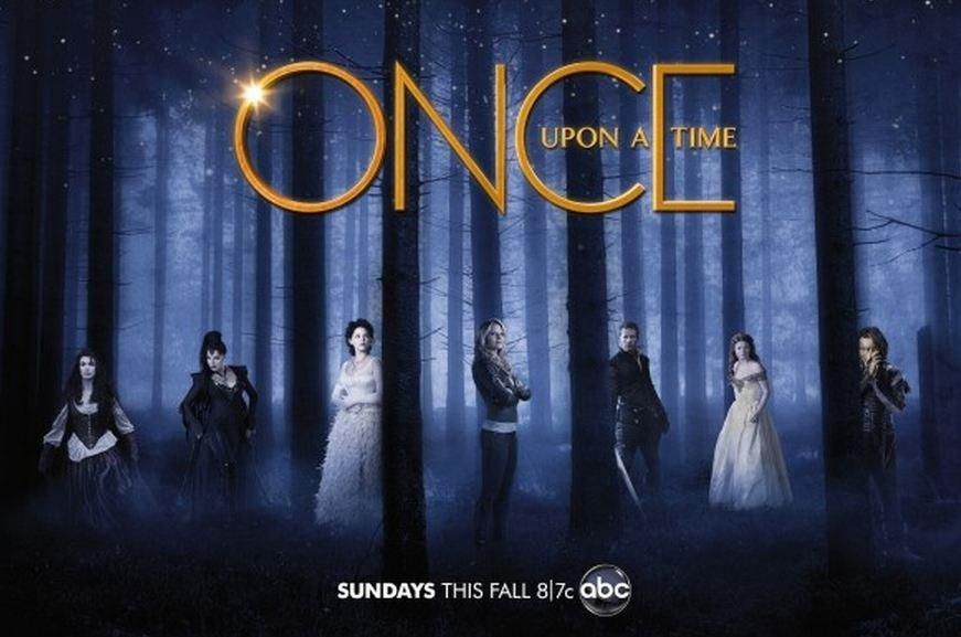 Once Upon a Time, il poster promozionale
