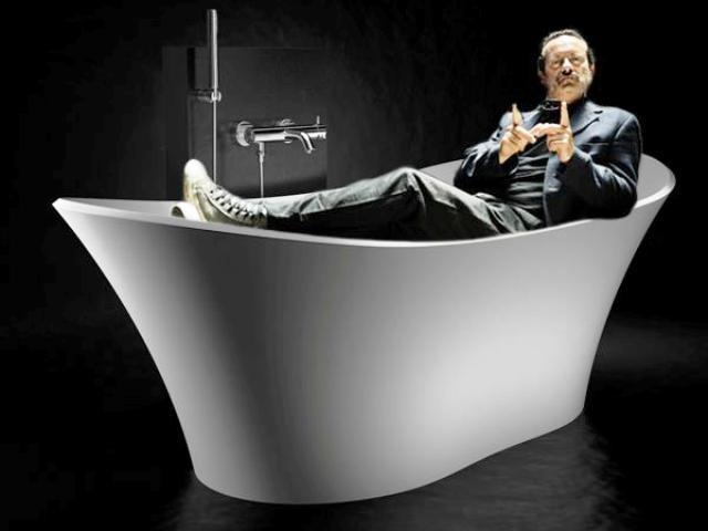 Vasca Da Bagno Del Tempo : Sanremo 2012 il cast nella vasca da bagno del tempo foto n. 6