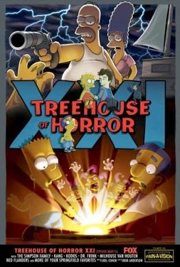 Simpson, Treehouse of Horror XXI