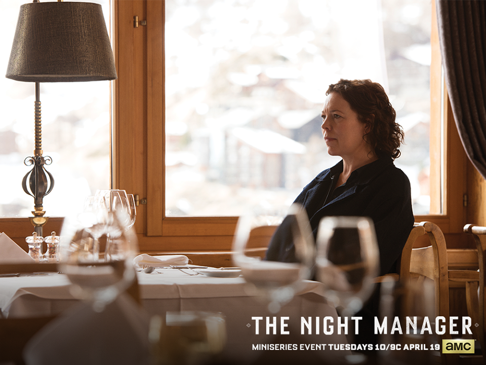 The Night Manager, Angela Burr