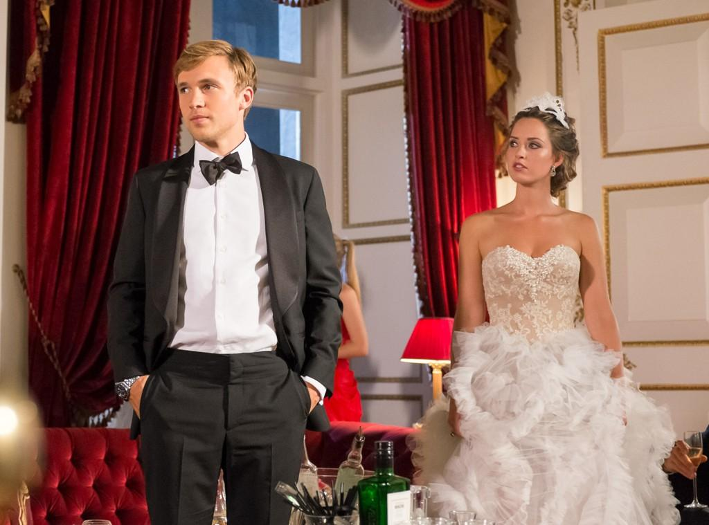 Il Principe Liam (William Moseley) e Ophelia (Merritt Patterson)