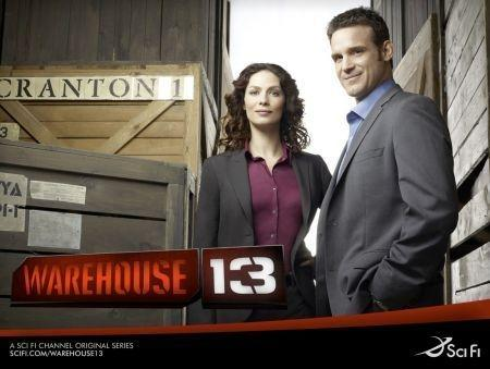 Warehouse 13, cover